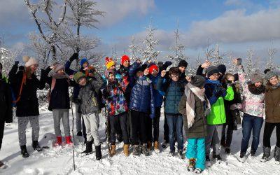 Obóz zimowy – Międzybrodzie Bialskie 2018