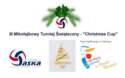 """III Mikołajkowy Turniej Świąteczny – """"Christmas Cup 2019"""""""