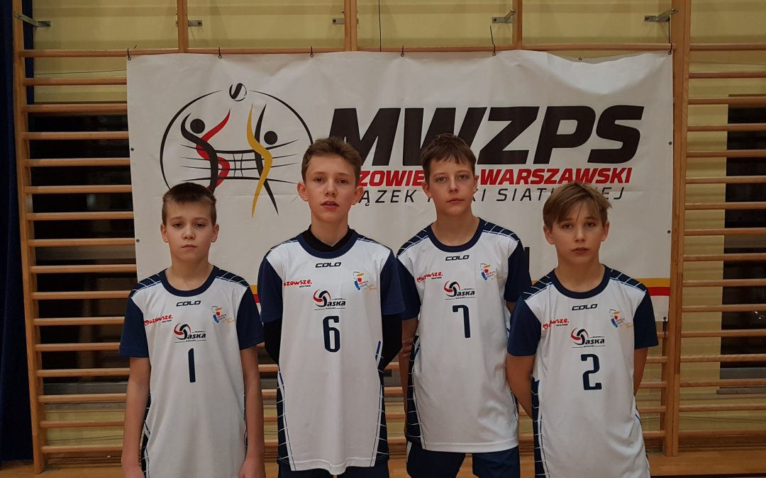 IV miejsce czwórek w Noworoczny Turniej o Puchar Prezesa MWZPS