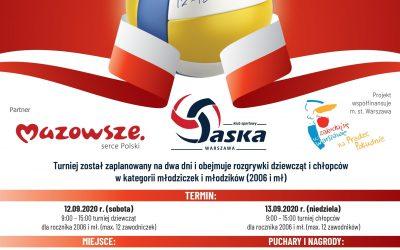 """12-13 września – III Ogólnopolski Turniej Piłki Siatkowej Młodziczek i Młodzików """"NIEPODLEGŁA"""""""