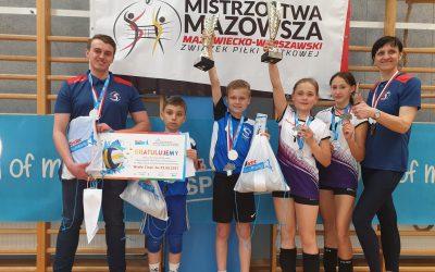 Jesteśmy wicemistrzami Mazowsza w trzech kategoriach!