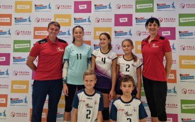 Sukces w Mistrzostwach Polski w Minisiatkówce – Gliwice 2021